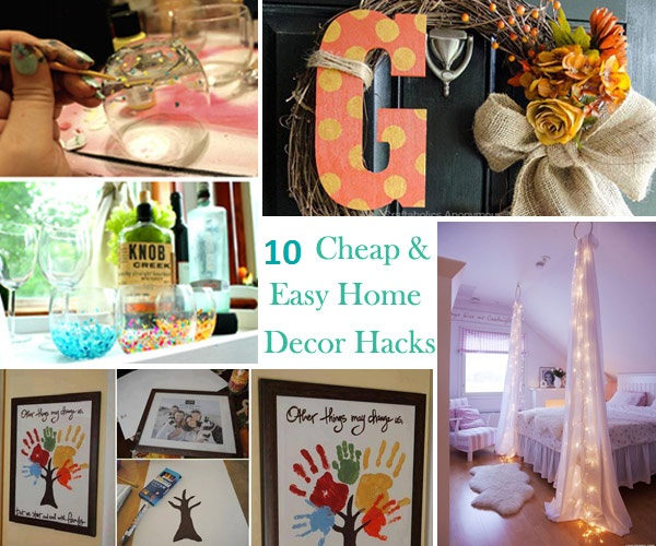 Cheap House Decorations: 10 Cheap And Easy Home Decor Hacks Are Borderline Genius